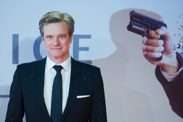 Британский актер Колин Ферт на премьере фильма Kingsman: Секретная служба в Германии