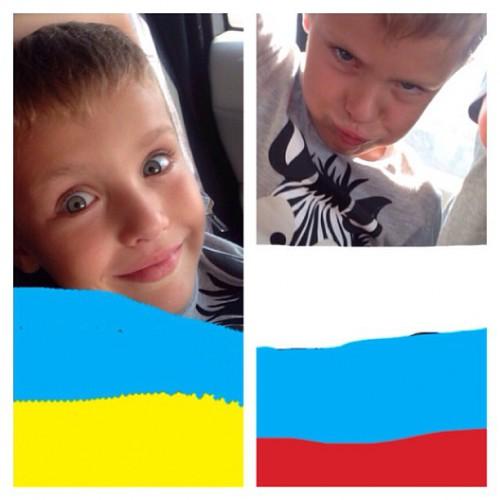 Сын Пономарева выразил чувства к Украине и России