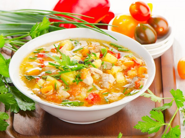 Рецепт весеннего супа