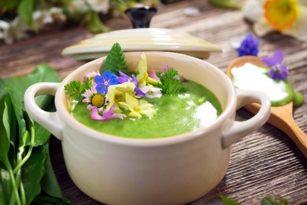 Крем-суп из щавеля
