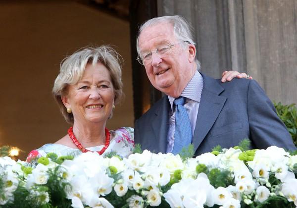Альберт II и его супруга Паола