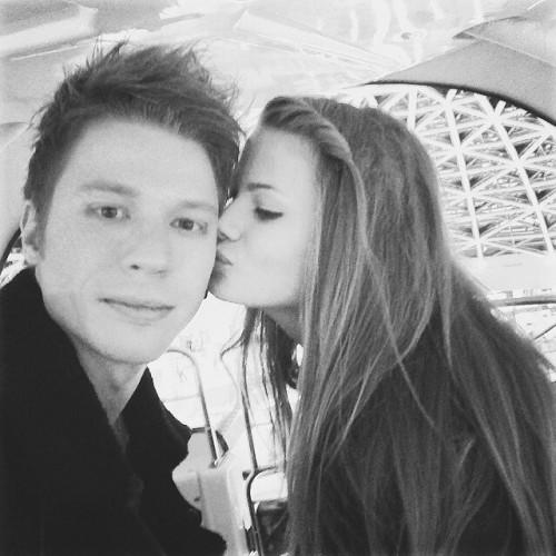 Никита Пресняков с экс-подругой Аленой Красновой
