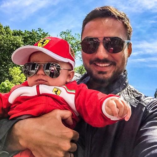 Эдгар Каминский с сыном Леоном