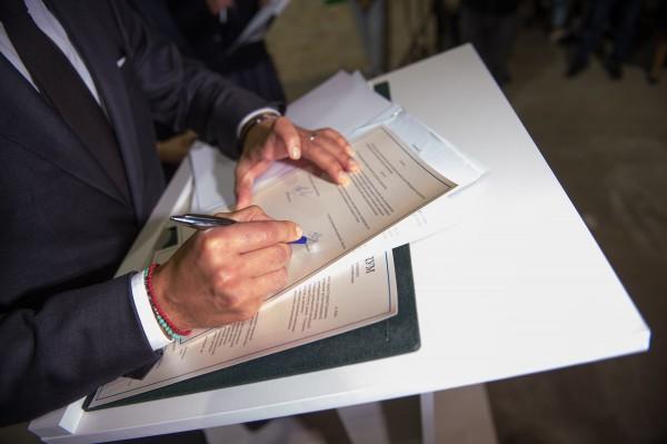 Подписание меморандума