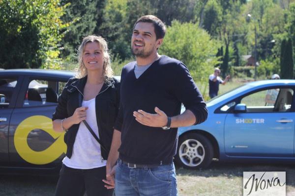 Константин Евтушенко с супругой Натальей Добрынской