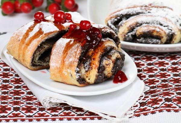 Рецепт                  Булочки с маком