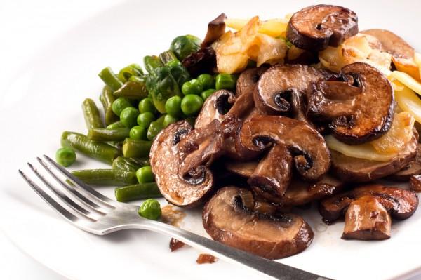 Рецепты в пост из грибов