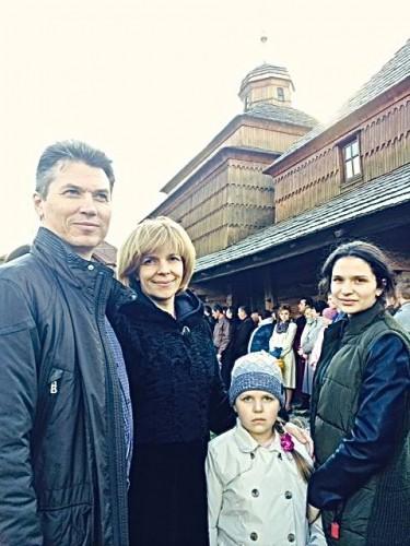 Ольга Богомоец с четвертым мужем