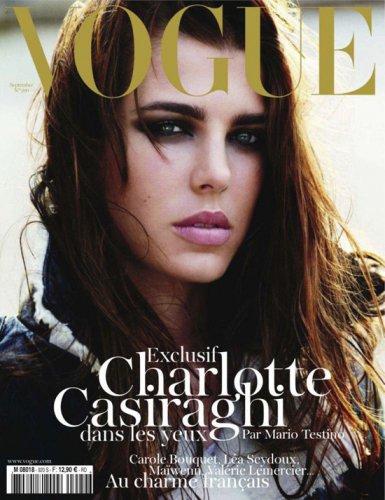 Шарлотта Казираги украсила обложку французского Vogue в 2011 году