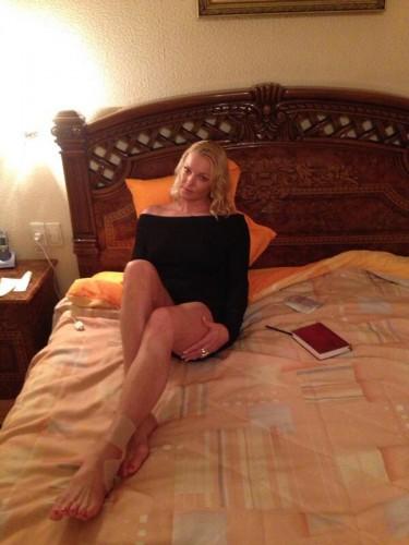 Анастасия Волочкова провела ночь со следователем