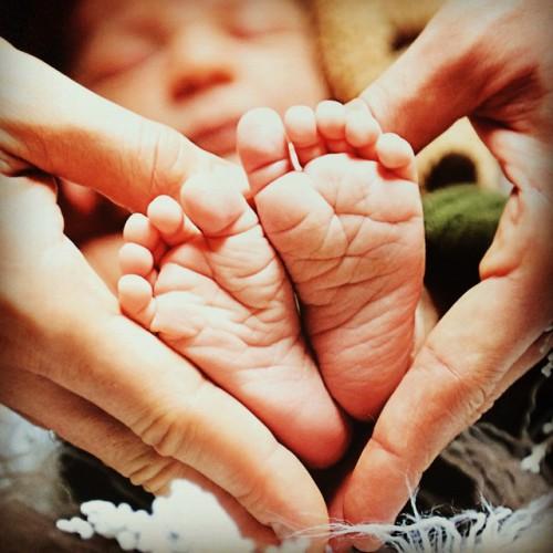 Детские ножки Дария