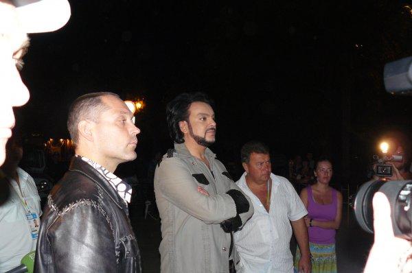 Филипп Киркоров был злым после концерта