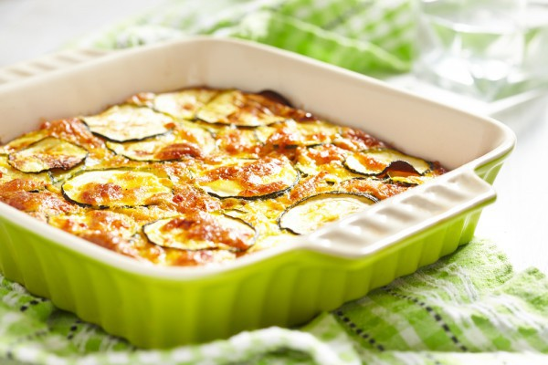 Цуккини можно добавлять в лазанью и запеканки