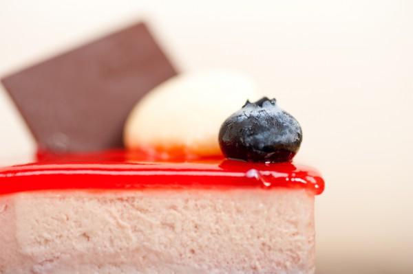 Клубнично-желейный торт