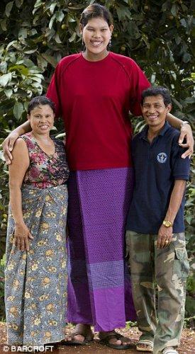 Мали с родителями