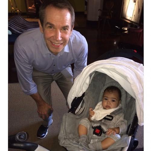 Ким Кардашян показала фото подросшей дочери
