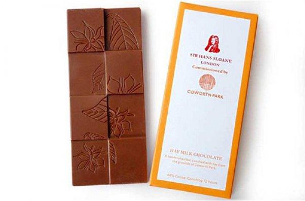 Шоколад с ароматом сена