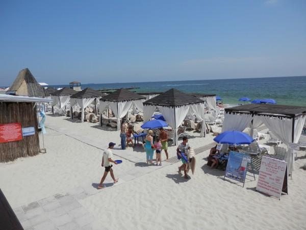 Пляжи Одессы: Курортный