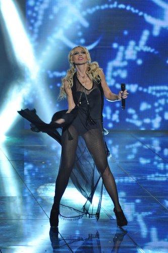 Кристина Орбакайте на сцене Крым мюзик феста 2012