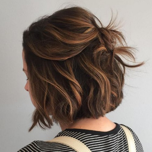 Прически на выпускной на короткие волосы