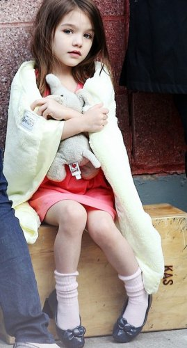 Дочь Кети Холмс и Тома Круза, Сури – самый влиятельный ребенок шоу-бизнеса