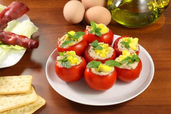 Закуска из летних овощей