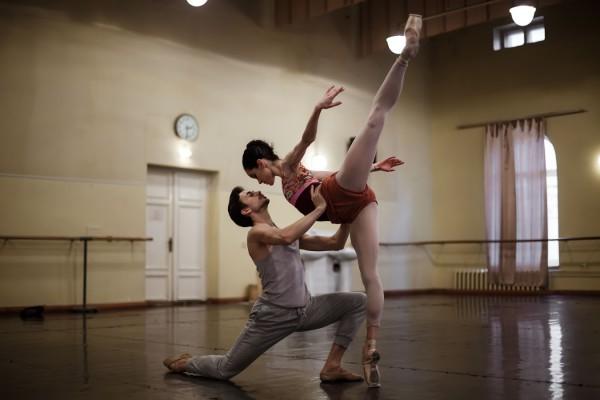 Александр Стоянов и Петра Конти фото