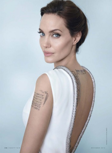 Анджелина Джоли в фотосессии для журнала Vanity Fair