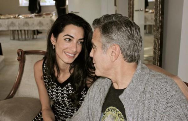 Амаль Аламуддин и Джордж Клуни готовятся к свадебной церемонии