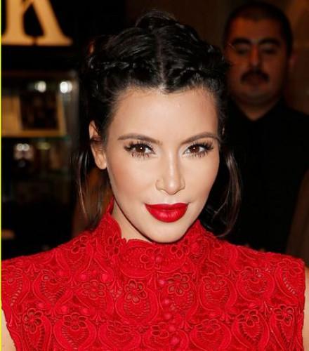 Американская звезда Ким Кардашян