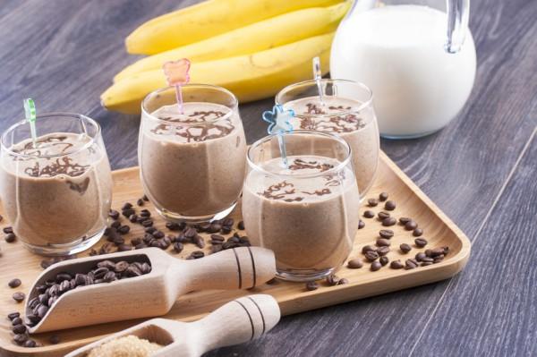 Рецепт                  Бананово-кофейный коктейль