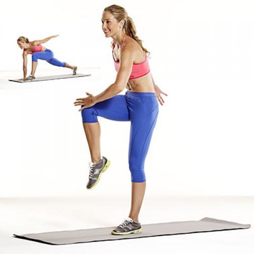 Упражнение для мышц ног и ягодиц
