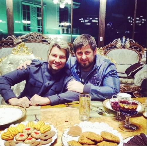 Басков показал фото с Кадыровым