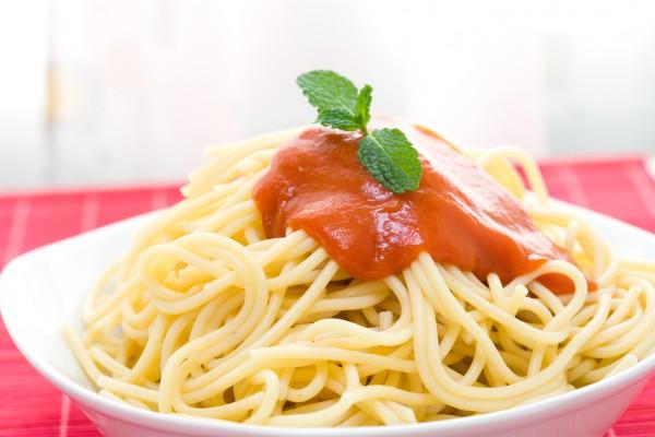Спагетти не промывают в холодной воде