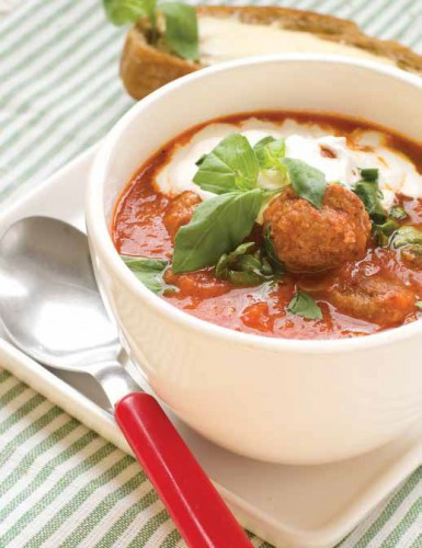 Томатный суп с фрикадельками – рецепт приготовления