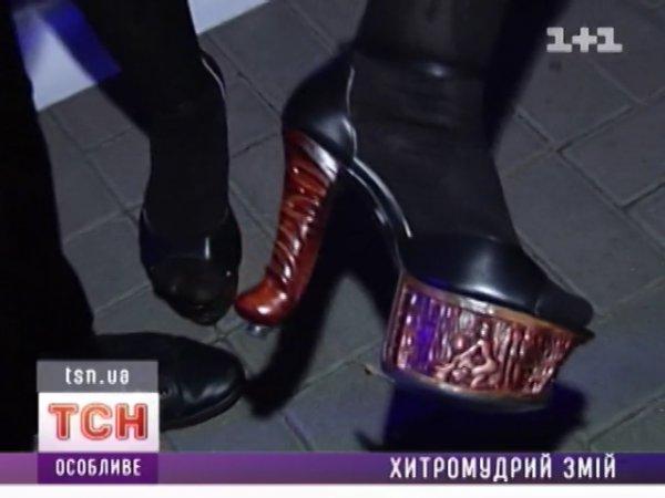Ирина Билык показала всем свою необычную обувь