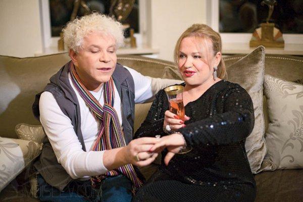 Борис Моисеев со своей будущей женой