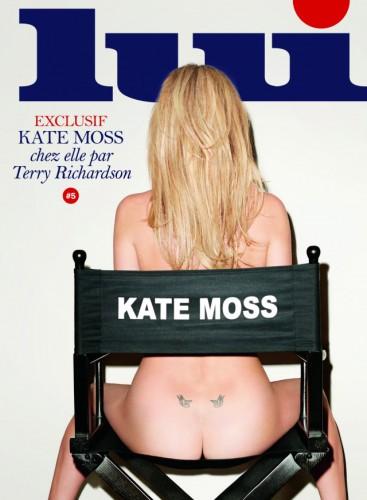 Кейт Мосс в журнале Lui