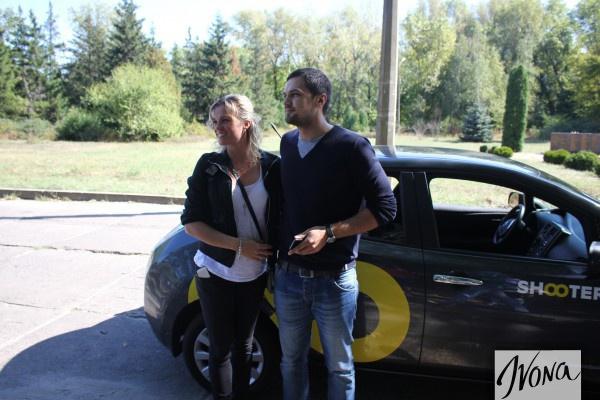 Костя Евтушенко с женой