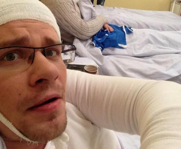 Гарик Харламов рассказал об аварии, которая произошла 1 апреля