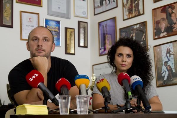 Потап и Настя объяснили журналистам свою позицию