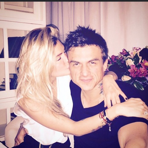 Влад Топалов со своей возлюбленной Ксенией Даниловой