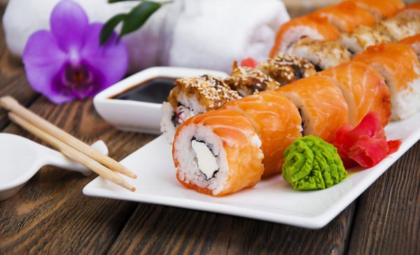 Рецепт суши: Филадельфия с лососем
