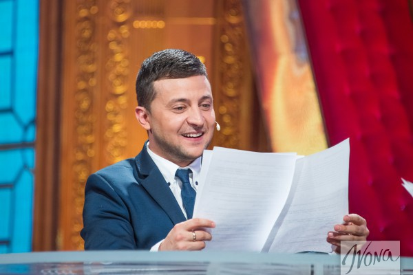 Украинский телеведущий Владимир Зеленский