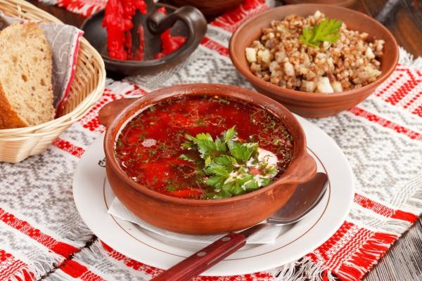 Борщ – символ украинской кухни