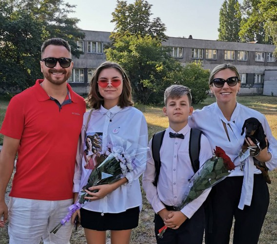 Семья Олега Собчука