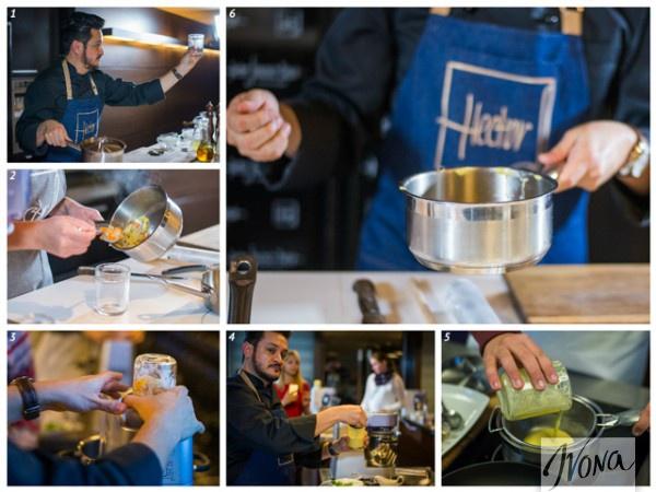 Рецепт от Эктора: Приготовления соуса (2-й этап)