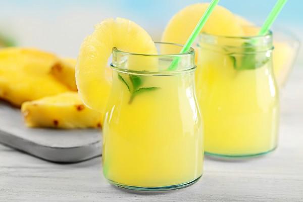 Лимонад с ананасом