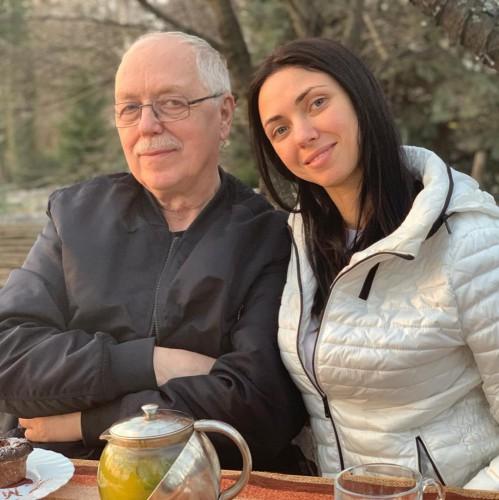 Вікторія Смеюха с папой