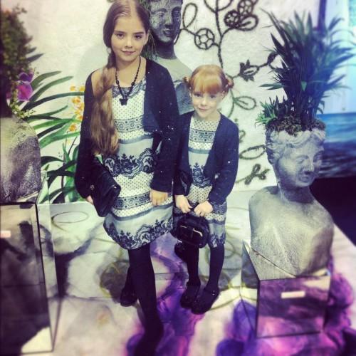 Дети Натальи Окунской – Мария и Полина